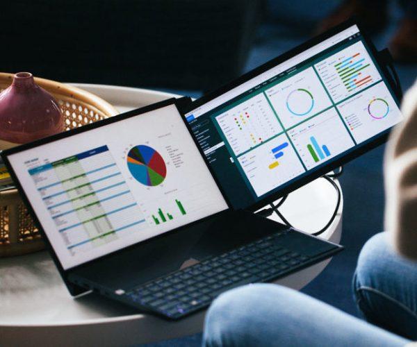 Duex Dual-Screen Laptop Monitors
