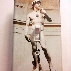 Michelangelo's David Light Switch