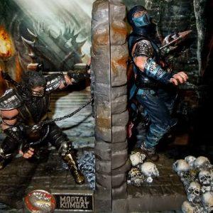 Mortal Kombat Bookends