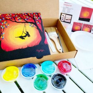Paint Party Step-By-Step Paint Kit