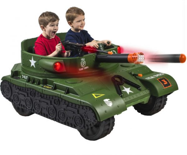 Ride-On Electric Tank