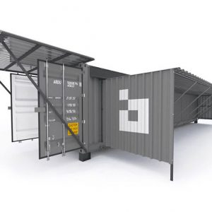 Shipping Container Bitcoin Miner