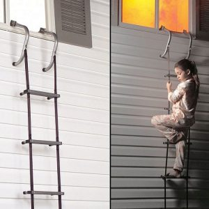 Two-Story Escape Ladder