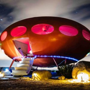 UFO House Airbnb