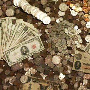 Vintage US Currency Hoard