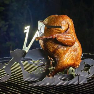 Beer Can Chicken Motorcycle Stand