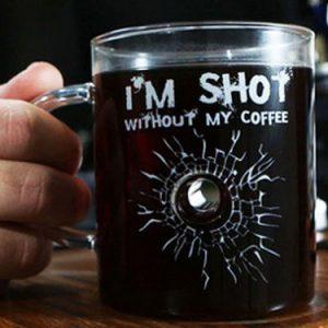 Bullet Hole Coffee Mug