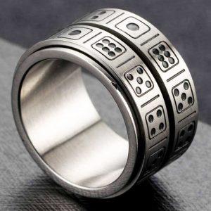 Dice Spinner Ring