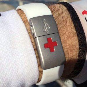 EPIC-id USB Emergency Wristband
