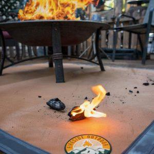 Fire Pit Ember Mat