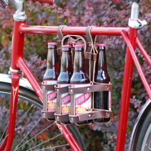 Leather Six Pack Bottle Carrier