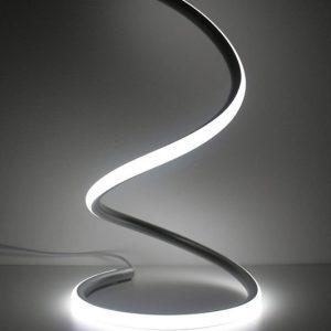 Spiral LED Table Lamp