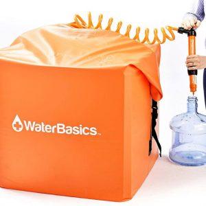 WaterBasics Emergency Water Storage Kit