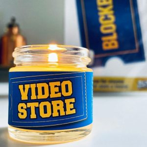Blockbuster Video Store Scented Candle