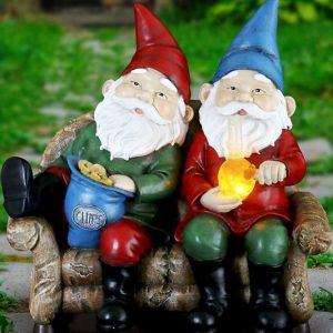 Bud Buddies Gnome Statue