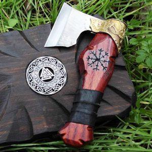 Viking Axe Straight Shaving Razor