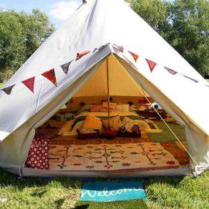 Waterproof Luxury Glamping Bell Tent