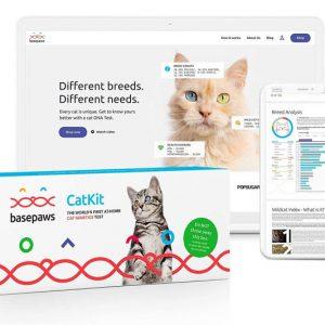 Basepaws Cat DNA Test Kit
