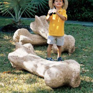 Gigantic Dinosaur Bone Sculpture