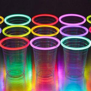 Glow Stick Rim Party Cups
