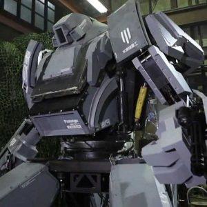 Life Size Japanese Battle Robot