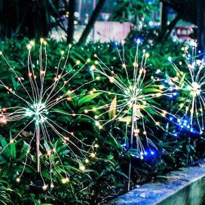 Solar Firework Lights