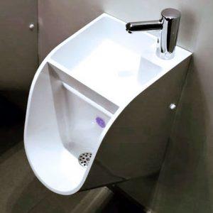 Stand Urinal Sink