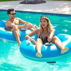 Tube Runner Motorized Pool Float